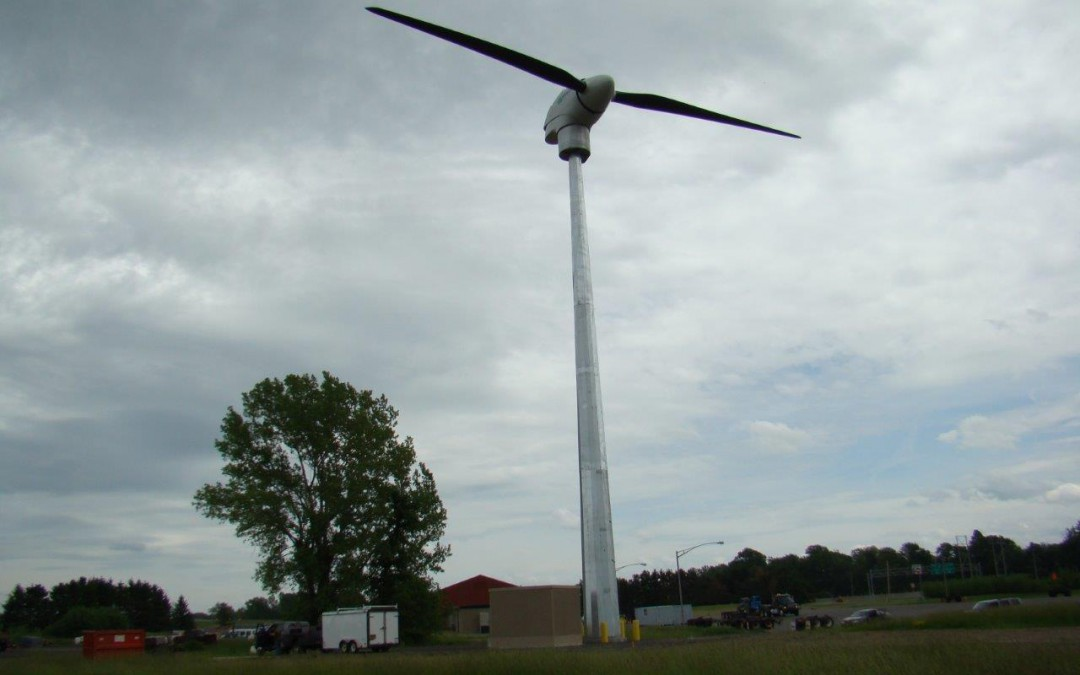 Vergnet Successfully Completes Wind Turbine Project for New York State Thruway Authority