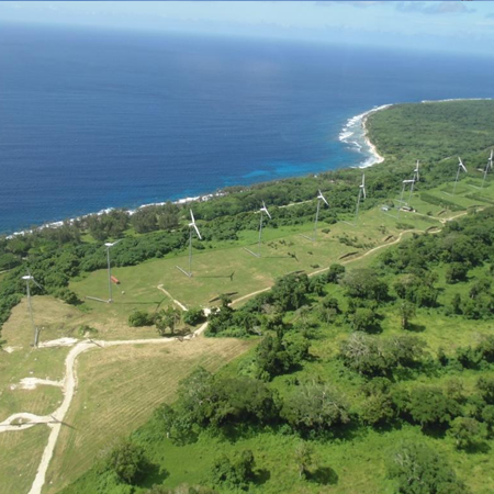 DEVIL'S POINT WIND FARM Efate Island, Republic of Vanuatu