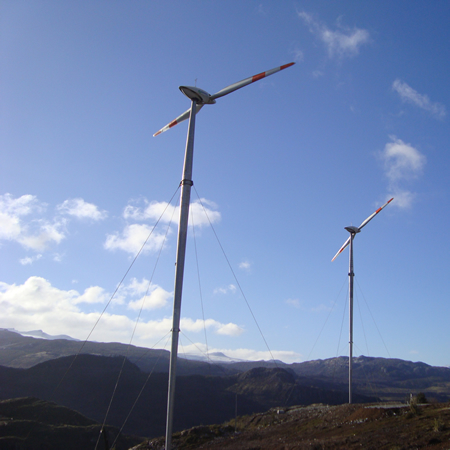 EL TOQUI WIND FARM Chile, South America