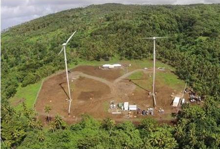 ALEIPATA WIND FARM Independent State of Samoa
