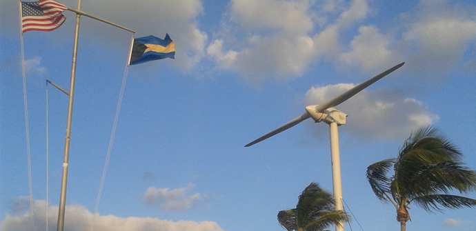 Successful installation of 1MW turbine at AUTEC US Navy Base in the Bahamas
