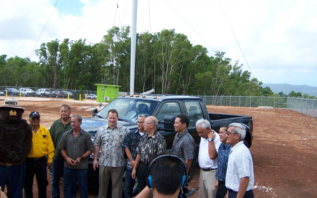 Official Inauguration of Vergnet's Pilot Wind Turbine Project, Guam