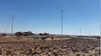 Phase One of Amdjarass Wind Farm, Chad Complete