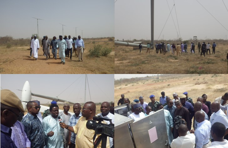 The Power committee of the Nigerian national assembly visited the VERGNET wind power plant of Katsina.