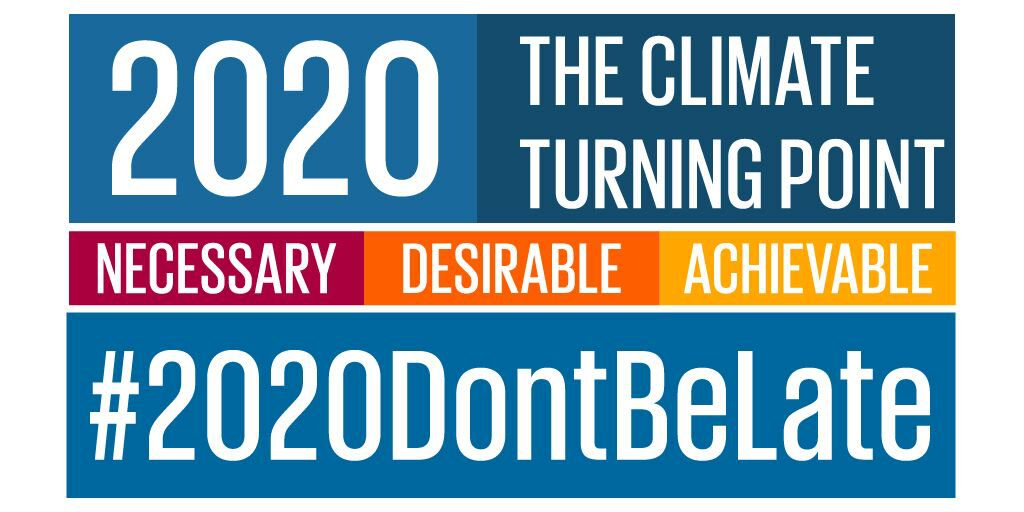 Mission 2020 Calls for Urgent Action on Climate Change